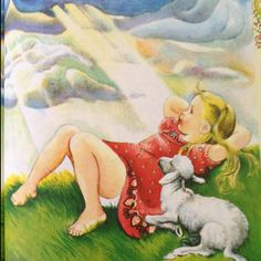 Favorite artist of children's books, Eloise Wilkin