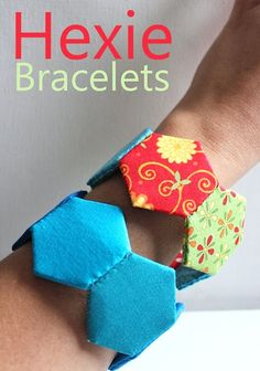 How-To: Hexagon Fabric Bracelet