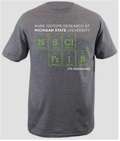 NSCL/FRIB Elemental T-shirt