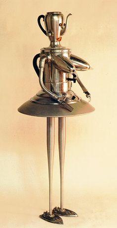 """Marilyn Monrobot"", Clayton Bailey, 1997"