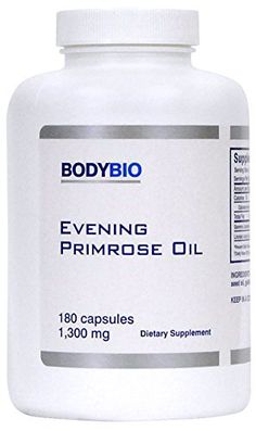 Evening Primrose Oil (EPO) has 9-10% gamma linolenic acid (GLA) , which becomes an essential fat, as many humans do not produce GLA in sufficient quantities, especially those over the age of 30. The list of metabolic enhancing functions of GLA could fill volumes. It is clearly one of the most... more details at http://supplements.occupationalhealthandsafetyprofessionals.com/herbal-supplements/evening-primrose/product-review-for-bodybio-evening-primrose-oil-1300mg-180-capsules