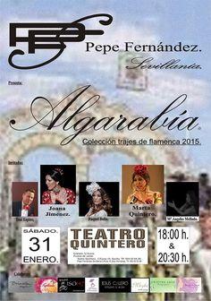ALGARABIA (COLECCIÓN DE TRAJES DE FLAMENCA 2015)