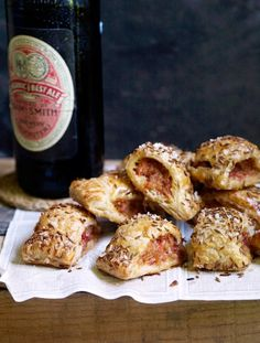 Chilli sausage rolls. A spicy twist on a classic