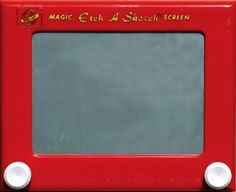 We didn't need computers, just etch-a-sketch!