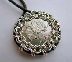 Chain Mail Bezel for Coins