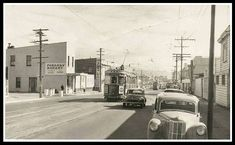 near 50-56 Adelaide Rd., NEWTOWN - 1956 OWR 17 Dec 2017 Wellington New Zealand, Mount Cook, Old Photos, Street View, Old Pictures, Antique Photos, Vintage Photos