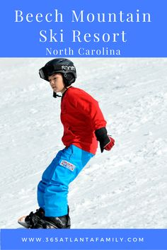 Beech Mountain Ski Resort is within a one tank drive of Atlanta, and the highest elevation east of the Rockies - perfect for southern skiing.