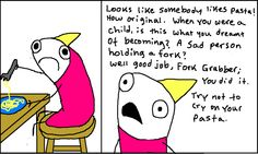 """""""Adventures in Depression"""" from Hyperbole and a Half by Allie Brosh   This is exactly what it's like."""