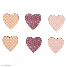 Wooden Objects Hearts - - Pack of 12 Holiday Emails, Wooden Hearts, Congratulations, Objects, Arts And Crafts, Packing, My Favorite Things, Wooden Shapes, Hue