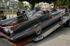 Ready for travel batmobile