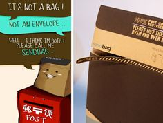 Sendbag is an innovation in packaging which will change the way you deliver your goods making it easier and way more exciting.