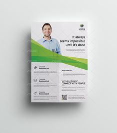 2 Column Professional Flyer Design with QR Code - Graphic Design Templates Flyer And Poster Design, Flyer Design, Graphic Design Templates, Flyer Template, Creative Business, Banner, Coding, Banner Stands, Banners