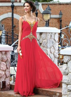 Hot Red Color Net Fancy Designer Party Wear Gown http://www.angelnx.com/