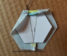 Before I continue with the Making A Hexagon Star My Way Tutorial I want to share something very pretty with you! Nellie Durand is the first ...