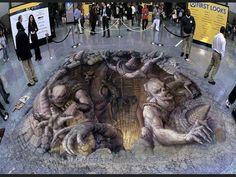 Amazing 3D Painting!