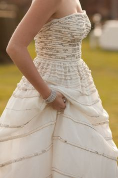 sparkling details on this dress