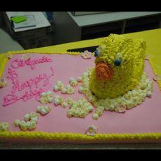 Duck cake Rubber Ducky Birthday, Duck Cake, Easter, Friends, Desserts, Food, Amigos, Tailgate Desserts, Deserts