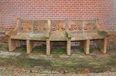 Watts Chapel Bench,  Photograph by Anne Purkiss ©Watts Gallery