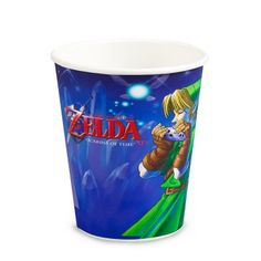 8 Medieval Pixel 9oz Paper Cups Birthday Party Horse Knight Sword Video Game OO