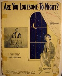 Am I lonesome tonight?? Why yes, yes I am!  Get this 1927 collectible sheet music with ukulele arrangement, for under $10!!!