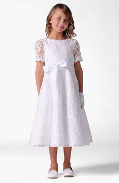 #Nordstromweddings      Us Angels Lace Dress (Little Girls & Big Girls) available at #Nordstrom