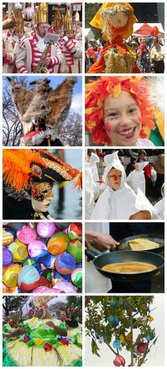 Carnival Around the World: Oranges, Masquerades, and Pancakes Carnival around the World Festivals: see how Fat Tuesday/Mardi Gras/Carnavale is celebrated in 10 different countries- Kid World Citizen Best Christmas Vacations, Canada Country, Celebration Balloons, Geography For Kids, World Festival, Celebration Around The World, World Crafts, World Cultures, Mardi Gras