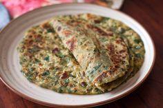 Methi Lachha Paratha Recipe