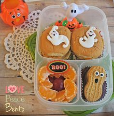 Love Peace Bento: Halloween Lunches - Part 4 Counting down the days