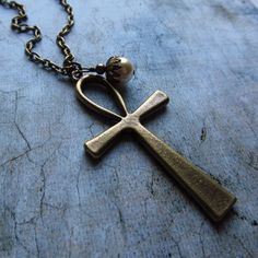 Been looking for an ankh necklace for months. Think I just found one.
