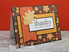 The best things in life are Pink.: Echo Park's The Story of Fall cards. … The best things in life are Pink.: Echo Park's The Story of Fall cards. Handmade Thank You Cards, Greeting Cards Handmade, Handmade Fall Cards, Diy Thanksgiving Cards, Holiday Cards, Thanksgiving Drinks, Karten Diy, Leaf Cards, Cricut Cards
