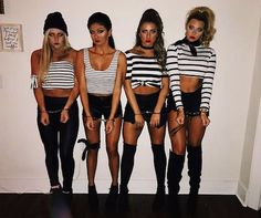Hot College Halloween Costumes easy halloween costumes t. - Hot College Halloween Costumes easy halloween costumes to copy Source by - Halloween 2018, Cute Group Halloween Costumes, Couples Halloween, Trendy Halloween, Halloween College, Halloween Diy, Costume Ideas For Groups, Easy Halloween Costumes For Women, Pirate Costumes