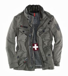 Gocgt Mens Winter Thicken Quilted Casual Lapel Flap Pockets Down Jacket