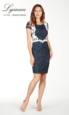 f8b68dfe89 10 Best Dresses to Wear to a Wedding. Navy And White ...