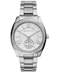 cd292a9ef75 Michael Kors Women s Bryn Stainless Steel Bracelet Watch 40mm MK6133  Jewelry   Watches - Watches - Macy s