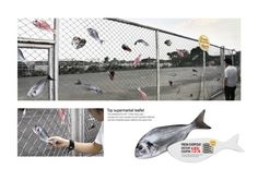 The Ambient Advert titled Tops Supermarket: Tops Net was done by McCann Bangkok advertising agency for product: Tops Supermarkets (brand: Tops) in Thailand. Guerrilla Advertising, Guerrilla Marketing, Creative Advertising, Marketing And Advertising, E Commerce, Visual Communication, Experiential, Art Festival, Print Ads