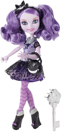 Amazon.com: Ever After High Kitty Cheshire Doll (Discontinued by manufacturer): Toys & Games