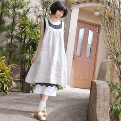 so cute ~~ pockets love ~~ apron dress