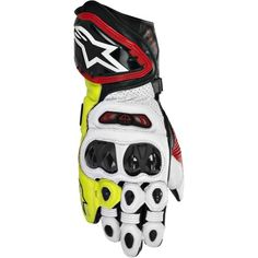 Special Offers - Alpinestars GP Tech Mens Leather Street Bike Racing Motorcycle Gloves  Black/Red/Flourescent Yellow / Large - In stock & Free Shipping. You can save more money! Check It (July 15 2016 at 02:10PM) >> http://motorcyclejacketusa.net/alpinestars-gp-tech-mens-leather-street-bike-racing-motorcycle-gloves-blackredflourescent-yellow-large/