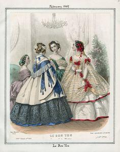 Le Bon Ton February 1859 LAPL