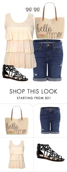 """""""Summer Day"""" by kaitlyns0512 on Polyvore featuring Style & Co., M&Co, women's clothing, women, female, woman, misses and juniors"""