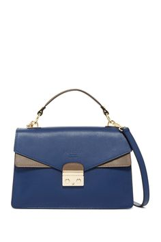 Dolce Leather Satchel
