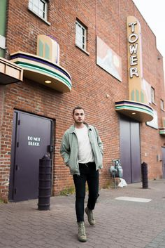 bc8f8c6dfc Devon rocking the Mod Jacket from Herschel Supply downtown Bend
