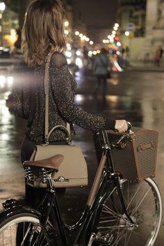 Habitually Chic® love the bike