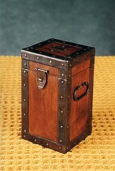 wooden container box