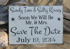 Save The Date Wedding Sign – Beach Wedding Sign Decor – Outdoor Rustic – Photo Prop – Personalize Custom – Nautical Coastal – Black White | best stuff