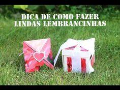 DIY - Caixinhas para lembrancinhas - Mundo de Ideias HP - YouTube