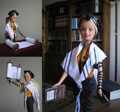 "A female Jewish scholar turned Mattel's Barbie into a ""modern orthodox girl"". Orthodox Jews were outraged. The doll sported tefilin, black leather boxes that are restricted to boys over 13 in orthodox communities."