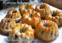 Áfonyás-kókuszos muffin