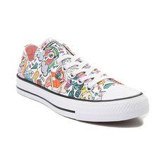44cd3162341d7f Converse Chuck Taylor All Star Lo Retro Pop Sneaker - White Multi - 399590