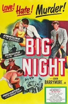 Watch The Big Night full hd online Directed by Joseph Losey. With John Drew Barrymore, Preston Foster, Joan Lorring, Howard St. A teenager comes of age while seeking revenge on the man Classic Film Noir, Classic Movies, Streaming Movies, Hd Movies, Hd Streaming, John Drew Barrymore, Cinema Online, A Wrinkle In Time, Big Night